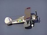 Gloster Sea Gladiator 813 Sqn Fighter Flight, HMS EAGLE, 1940