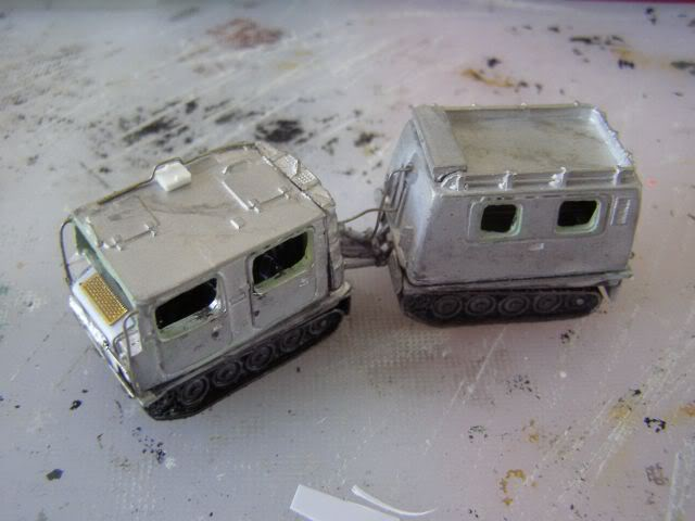 BV 206 before painting