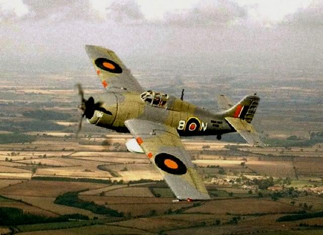 Grumman Wildcat IV, 896 Sqn Fleet Air Arm, HMS PURSUER Operation TUNGSTEN